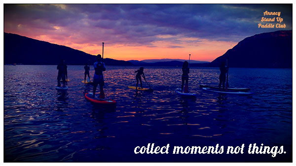 Programme sportif Annecy Stand Up Paddle Club