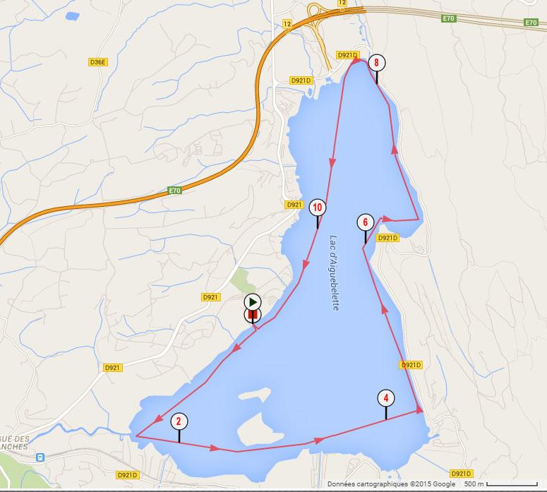 parcours longue distance alpine lakes tour aiguebelette