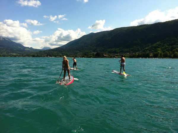 downwind lac d'Annecy
