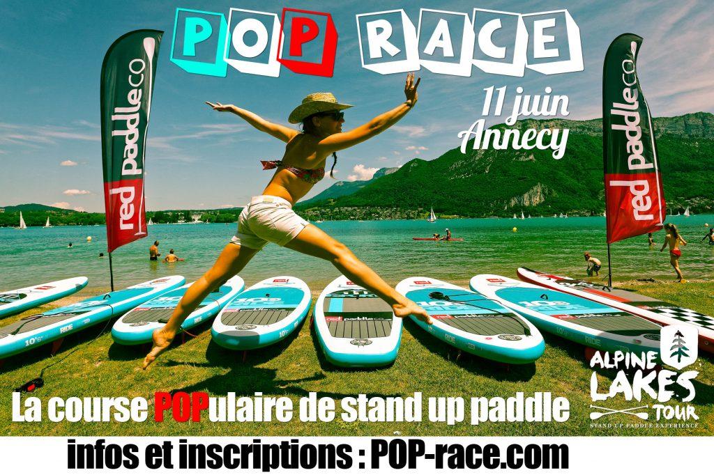 POP Race, la course de stand up paddle POPulaire !