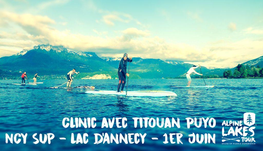 clinic Titouan Puyo 1er juin