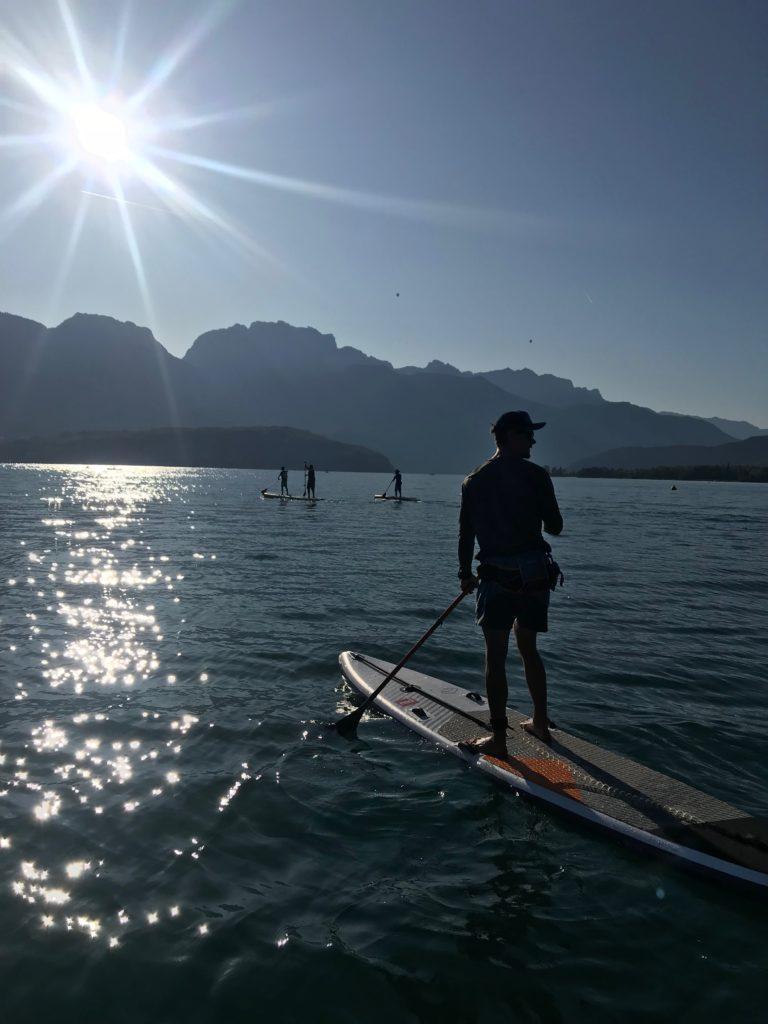 Traversée du lac d'Annecy en paddle (NCY SUP)
