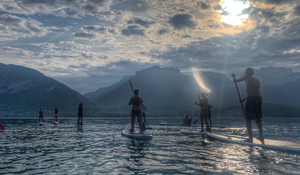traversee lac annecy paddle