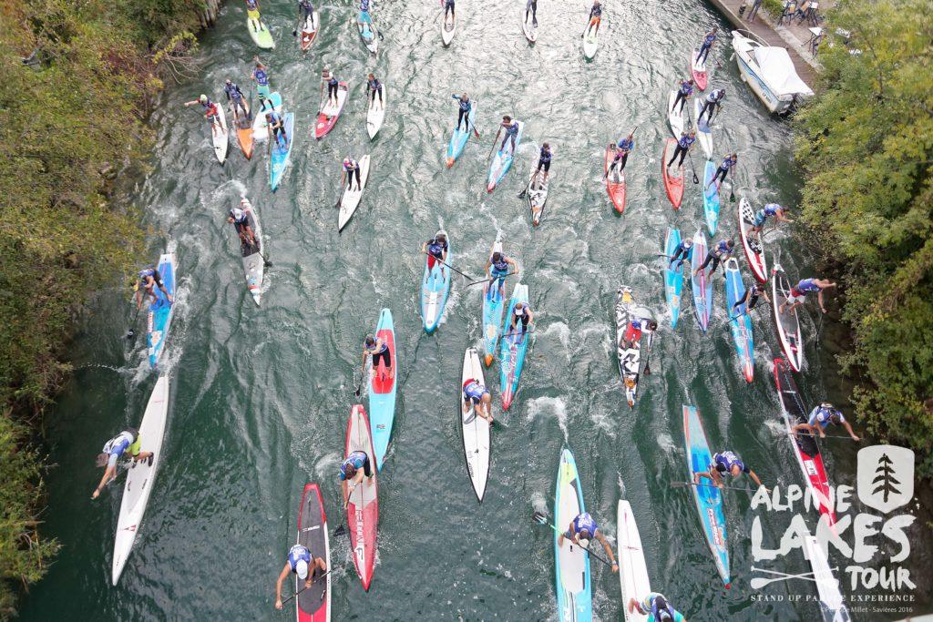 course paddle canal de savières
